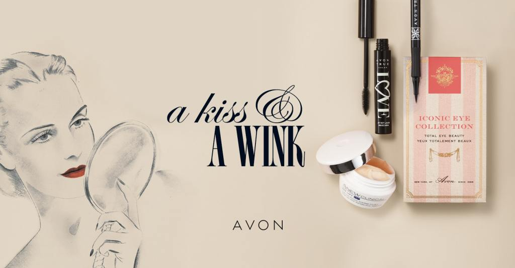 iconic avon makeup.