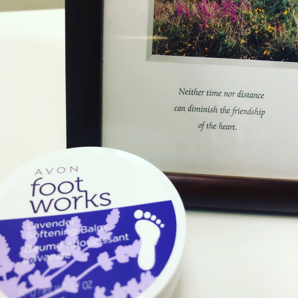 Avon Foot Works Lavender Softening Balm