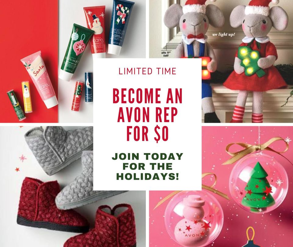 join Avon for the holidays
