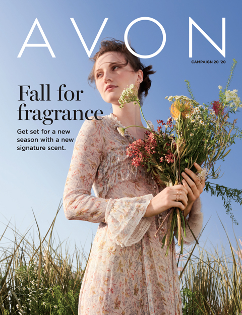 Avon Fall for Fragrance sale brochure
