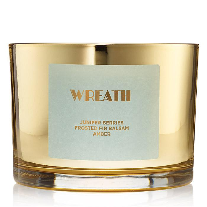 Wreath candle by Avon