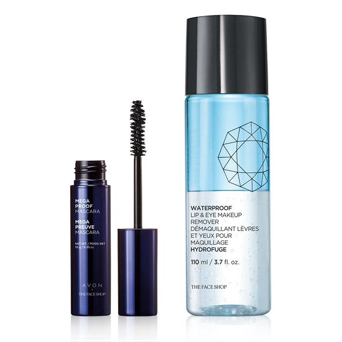 Avon x The Face Shop - Mascara & Makeup Remover -Online Exclusive Set