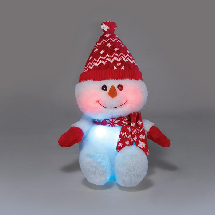Simon the Singing Snowman Avon Plush