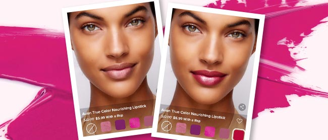 Try the Virtual Try-On Feature At Avon