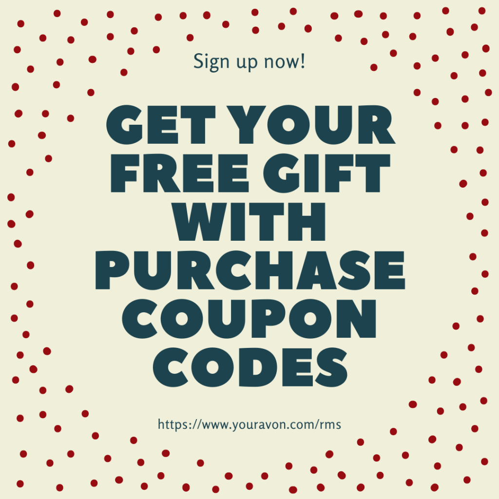 Free gift with purchase.