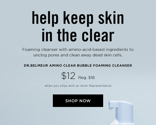 Dr. Belmeur Amino Clear Bubble Foaming Cleanser shop now