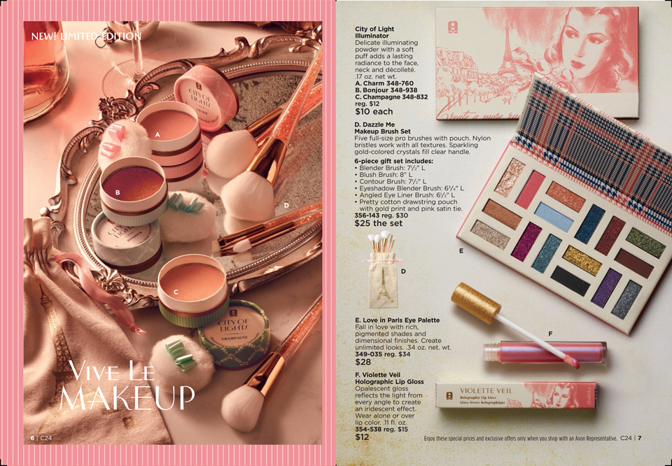 Parisian makeup from Avon