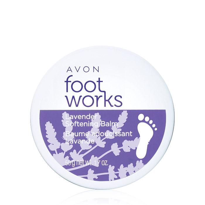 Avon foot works stocking stuffer idea.  lavender softening balm.