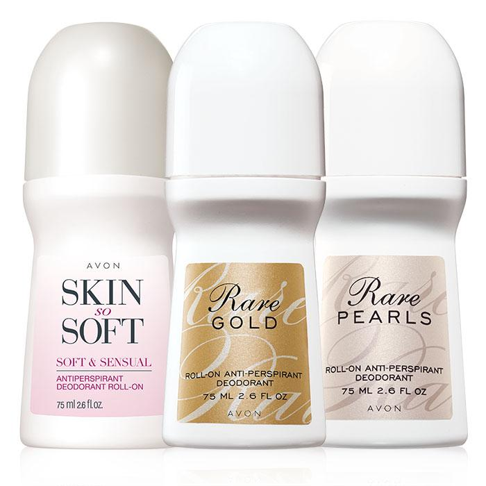Avon Roll on deodorant stocking stuffer idea