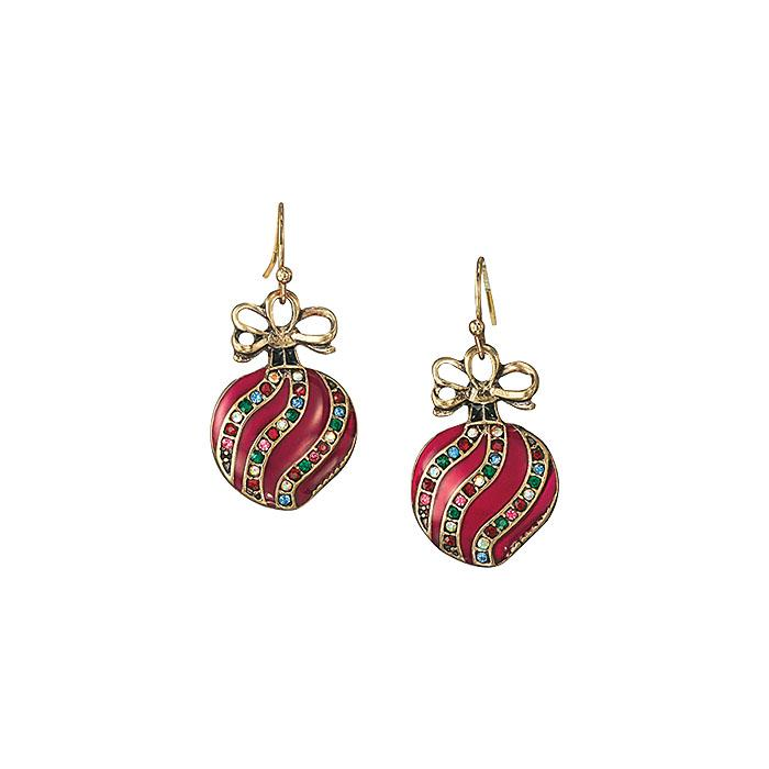 Ornament earrings by Avon
