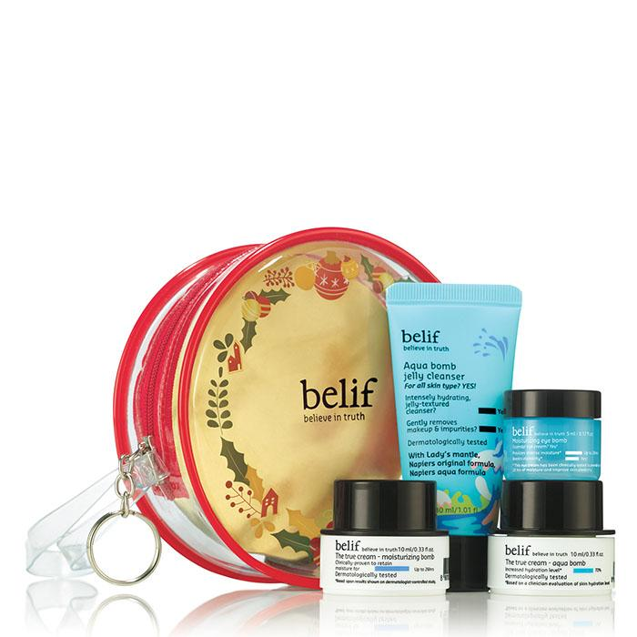 belif holiday travel kit