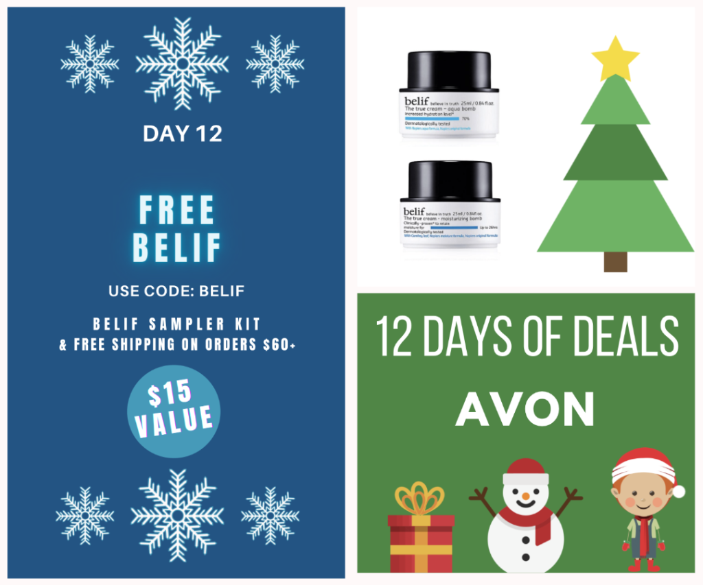 last day of 12 days of deals at Avon