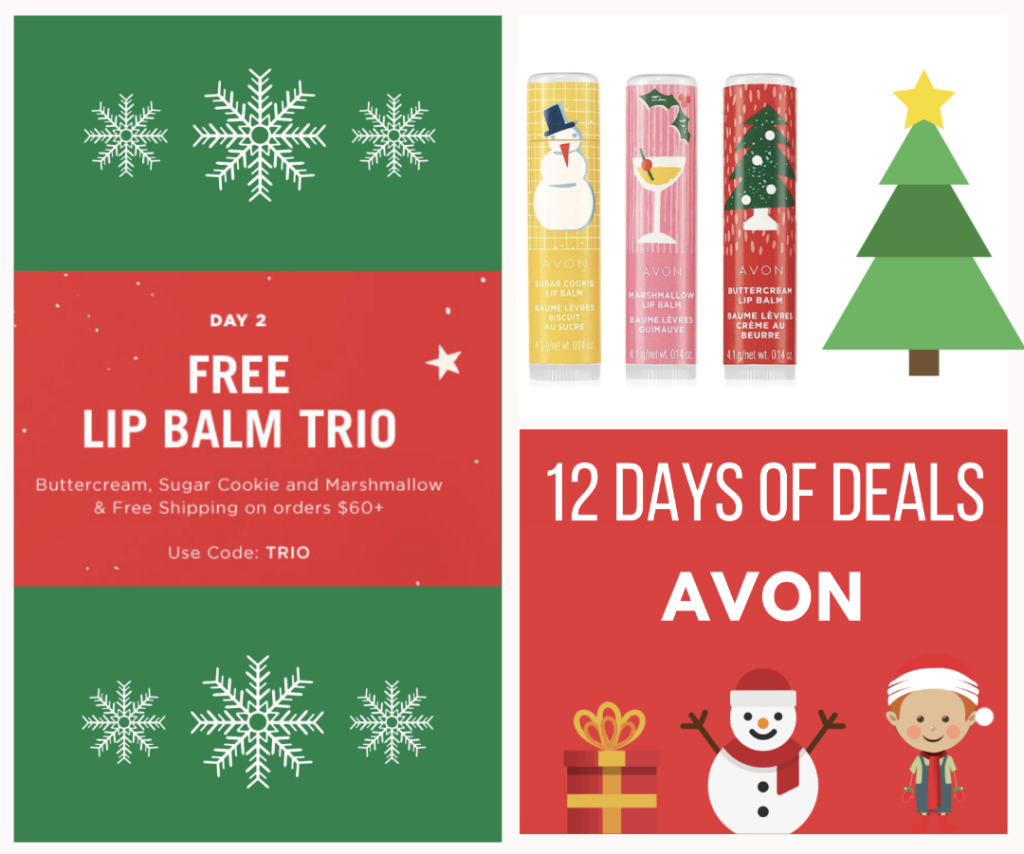 Day two of AVON 12 days of deals
