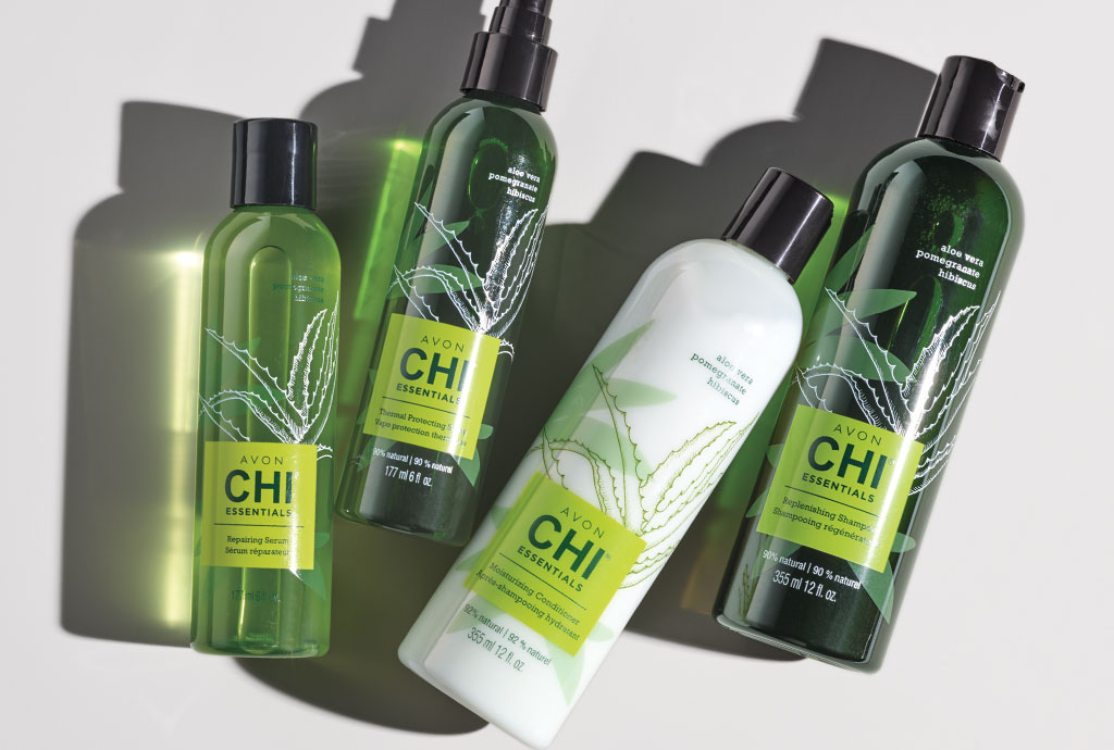 Avon CHI hair care products