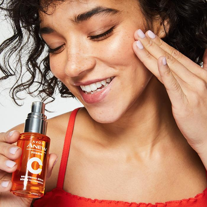 how to use facial serum