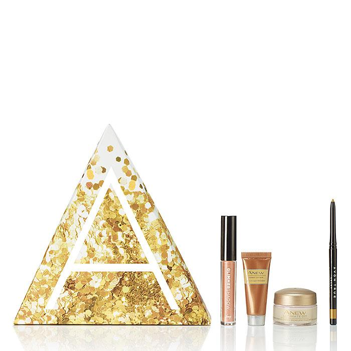 Go for the Gold A Box from Avon