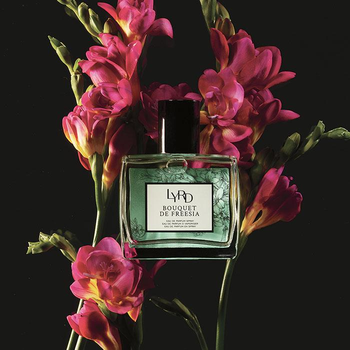 LYRD Bouquet De Freesia Eau De Parfum with Freesia flowers