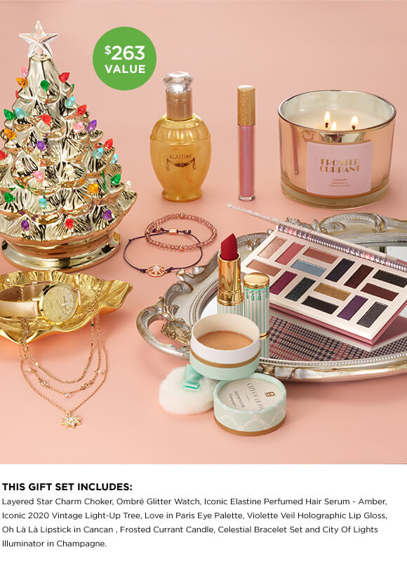 AVON Winter Glamour Sweepstakes prizes.