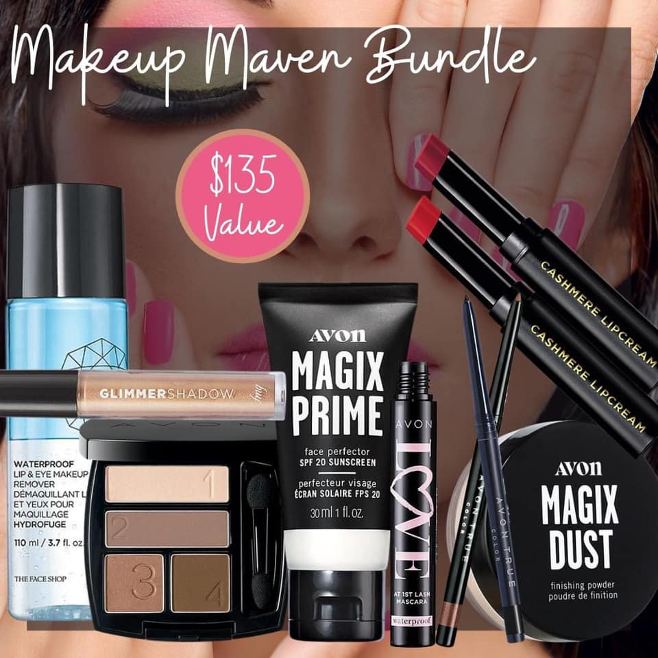 Avon Makeup Maven Bundle for $50.00