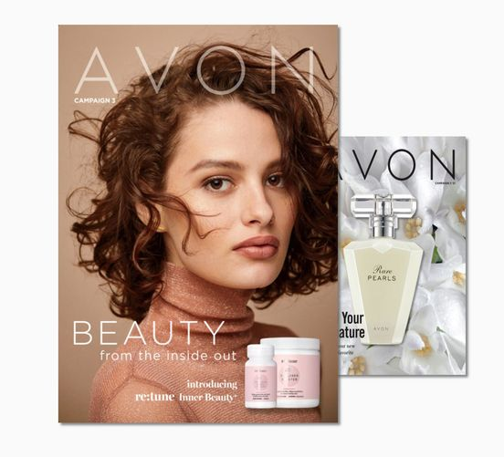 Current Avon Brochures