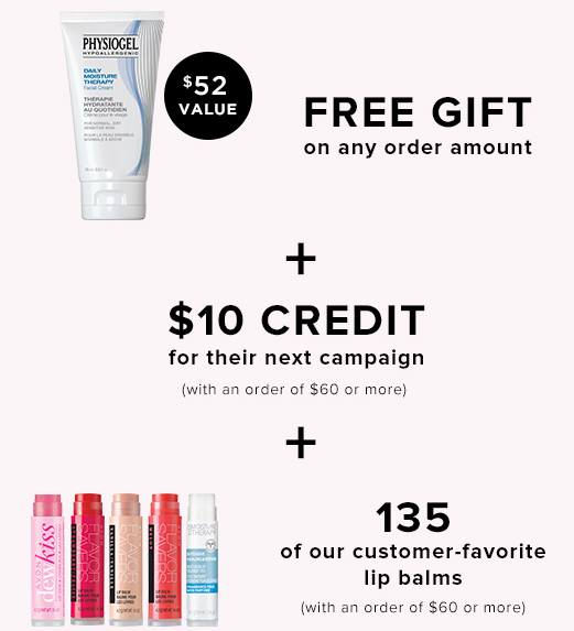 graphic of all the perks you get when you sign on with Avon.
