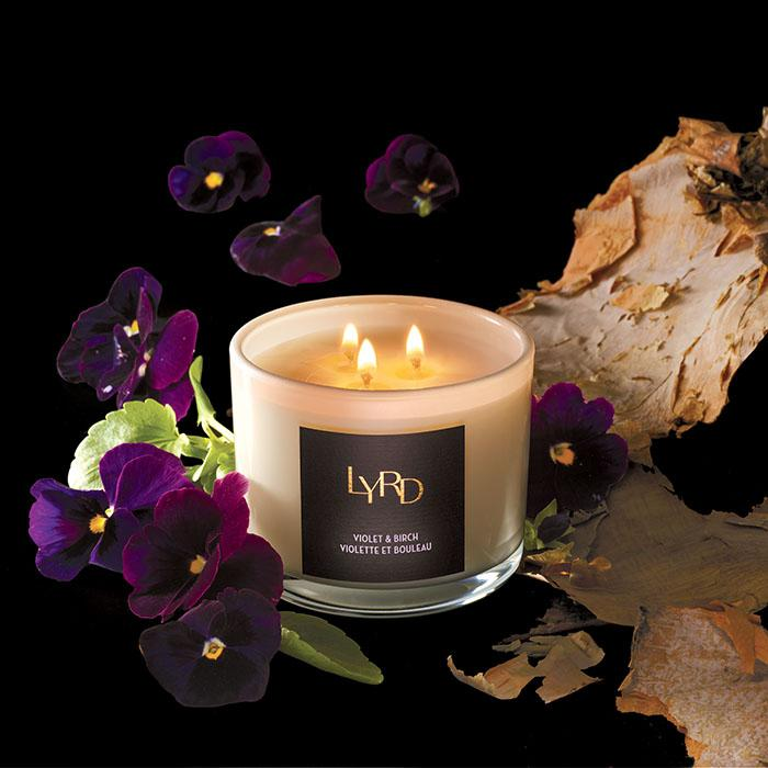 LYRD Violet & Birch Candle