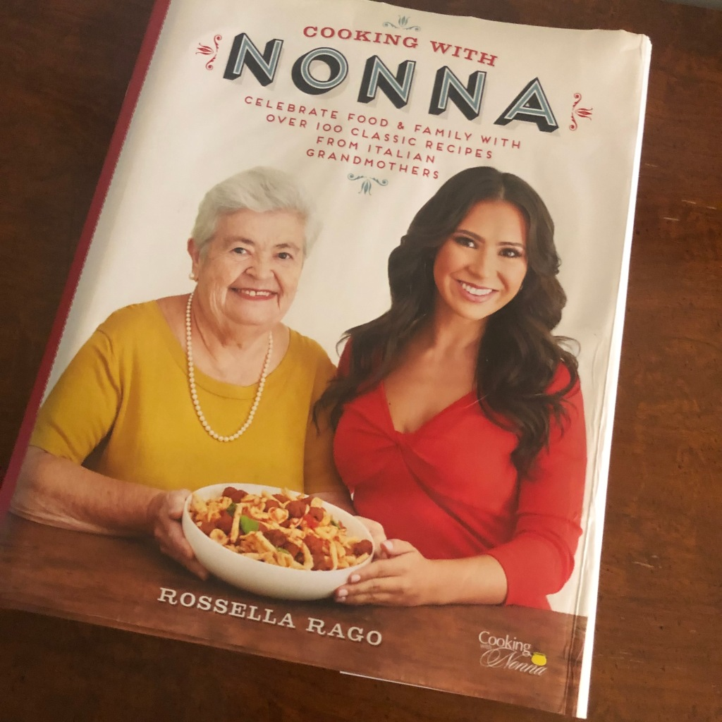 cooking with Nonna cookbook