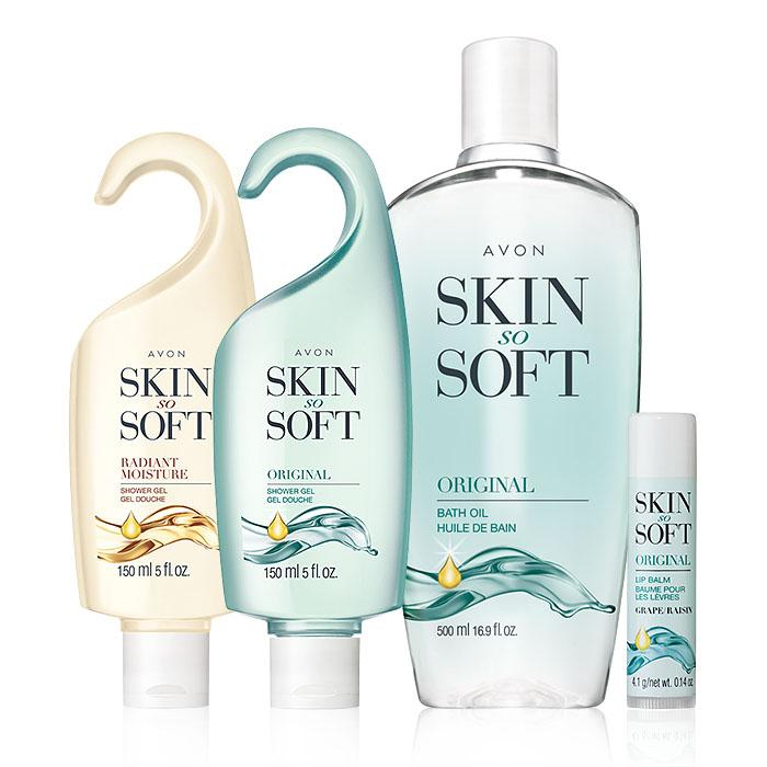 Skin so soft bath set - original