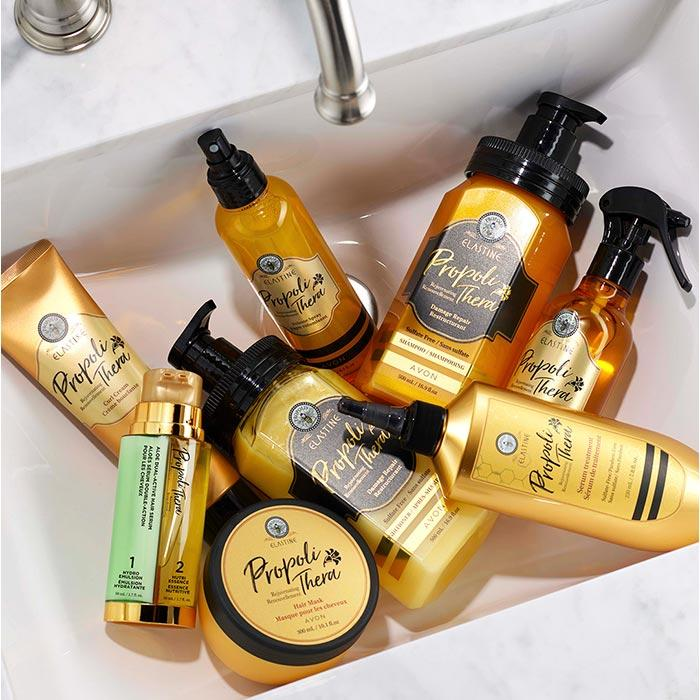 Elastine Propolithera hair care products at Avon