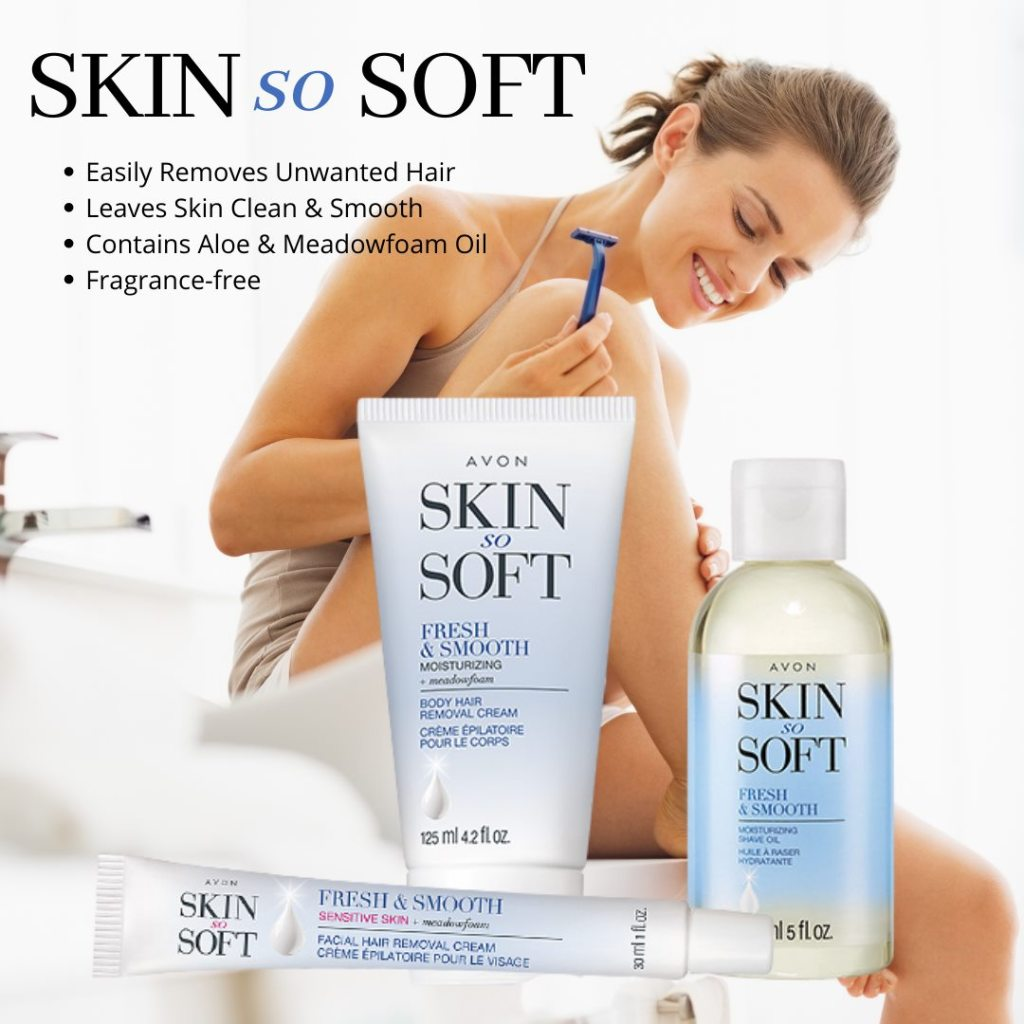 skin so soft shave cream and hair removers