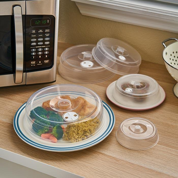 5 Size Microwave Food Cover Set